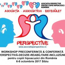 Conferinta si Workshop Perspective Sibiu 2017